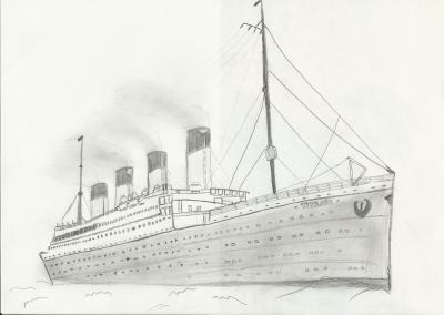 Mon dessin titanic 1997 2012 - Dessin du titanic ...