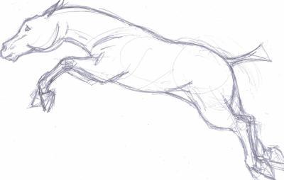 Un cheval qui saute tous mes dessins - Cheval qui saute dessin ...