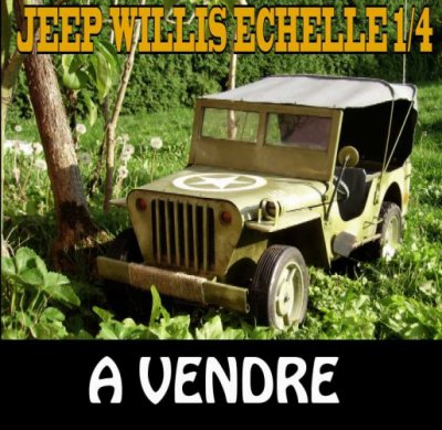 la jeep willys est a vendre blog de crazywillys. Black Bedroom Furniture Sets. Home Design Ideas