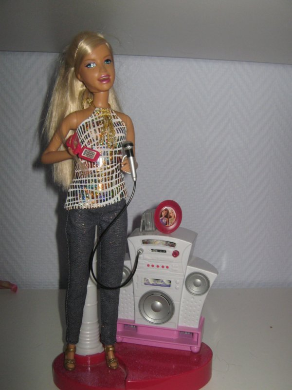 Barbie chanteuse mes souvenirs d 39 enfance - Barbie chanteuse ...